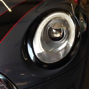 Headlamp rings - Black for 3rd gen MINI
